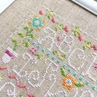 Shannon Christine Designs Funky Spring Sampler cross stitch chart